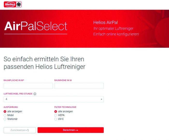 AirPalSelect_Screenshot_Eingabemaske